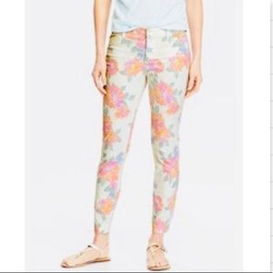 Old navy pixie ankle floral pants
